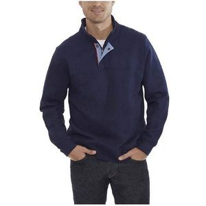 Orvis Men's Medium Signature Sweatshirt Navy Blue